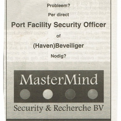 Advertentie in Havenloods uit 2008
